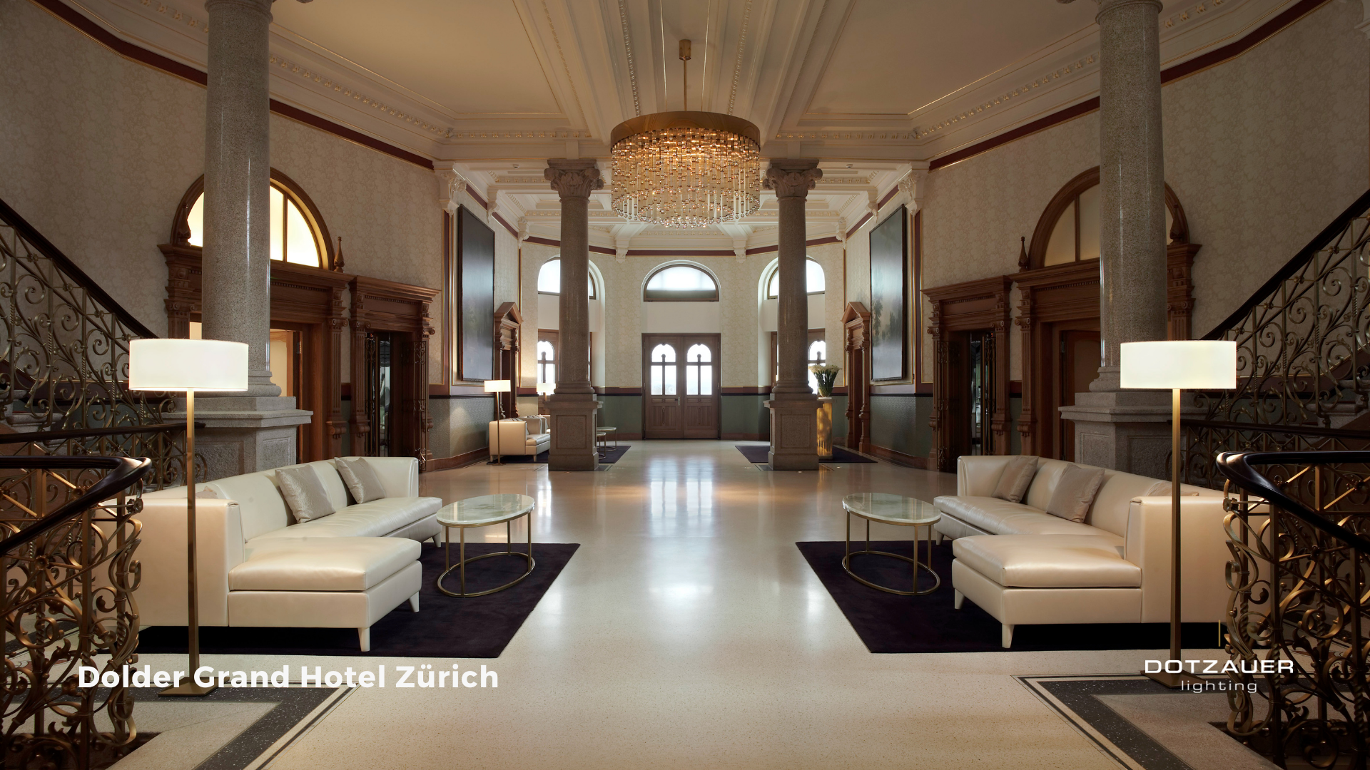 The Dolder Grand Hotel - Entrance