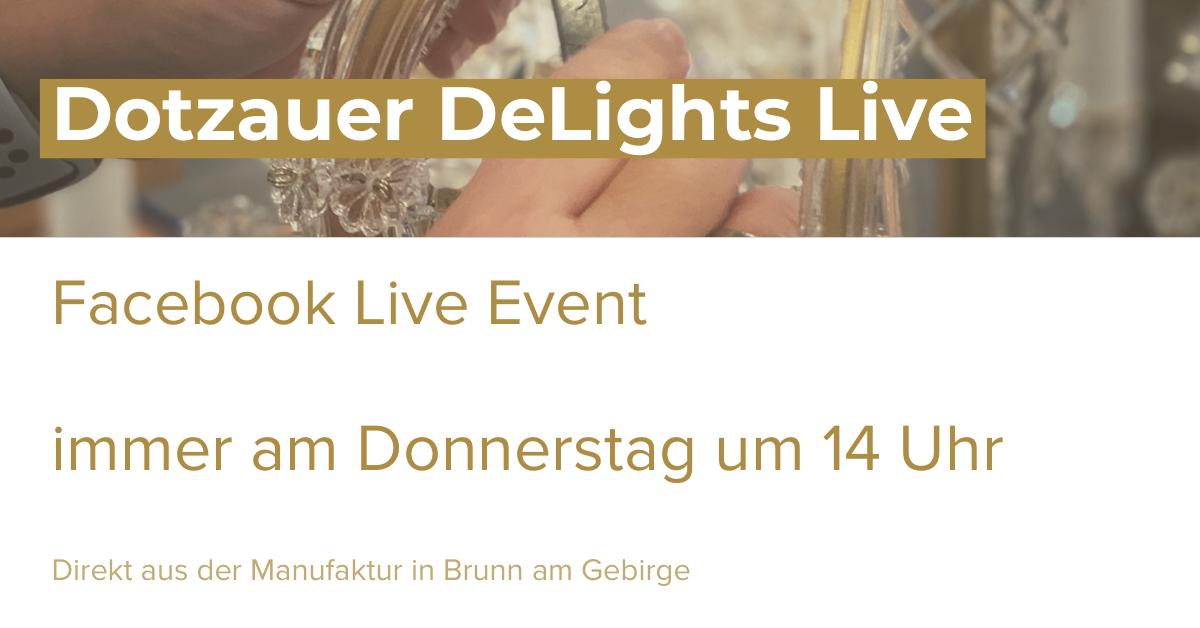 Dotzauer Delights Live auf Facebook